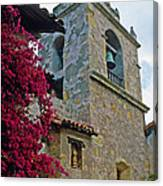 Carmel Mission Tower Canvas Print