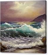Carmel Sea Sunset Sold Canvas Print