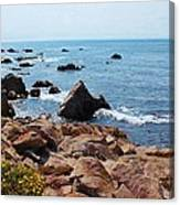 Carmel Seascape Canvas Print
