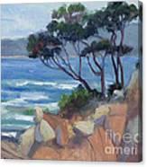 Carmel View From Point Lobos Canvas Print