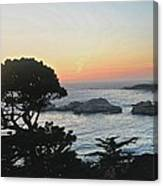 Carmel's Scenic Beauty Canvas Print