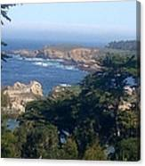 Carmel's Coastline Canvas Print