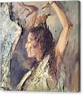 Carmen Amaya Vi Canvas Print