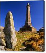 Carn Brea Memorial Canvas Print