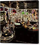 Carnival - Bumper Cars Canvas Print