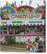 Carnival Candy Land Canvas Print