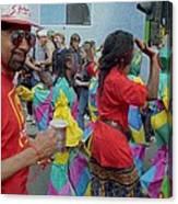 Carnival Dancing Canvas Print