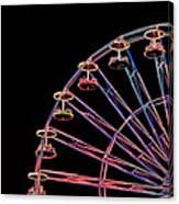 Carnival - Ferris Wheel Canvas Print