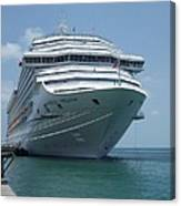 Carnival Freedom Bow Canvas Print