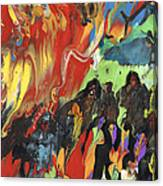 Carnival In Spain Canvas Print