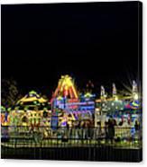 Carnival Life At Night 01 Canvas Print