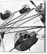 Carnival Ride, 1942 Canvas Print