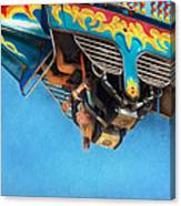 Carnival - Ride - The Thrill Of The Carnival  Canvas Print