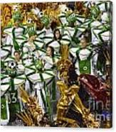 Carnival Rio De Janeiro 14 Canvas Print