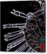 Carnival - Sky Swings Canvas Print