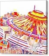 Carnival Sombrero Canvas Print