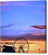 Carnival Sunset Canvas Print