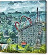 Carnival - The Thrill Ride Canvas Print
