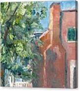 Carnton Plantation On A Spring Morning Canvas Print