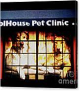 Carol House Quick Fix Pet Clinic Canvas Print