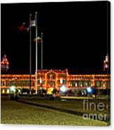 Carol Of Lights And Bell Towers Canvas Print