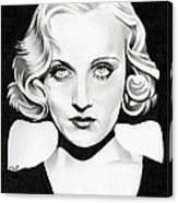 Carole Lombard Canvas Print