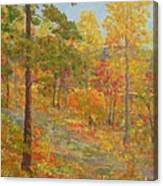 Carolina Autumn Gold Canvas Print