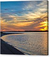 Carolina Beach River Sunset II Canvas Print