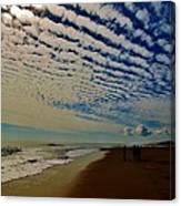 Carolina Blue Sky And Pier 10 10/17 Canvas Print