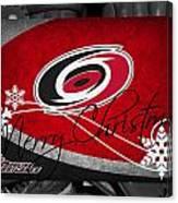 Carolina Hurricanes Christmas Canvas Print