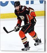 Carolina Hurricanes V Anaheim Ducks Canvas Print