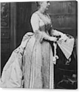 Caroline Lavinia Harrison (1832-1892) Canvas Print