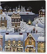 Caroling In Winterberry Canvas Print