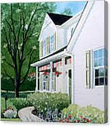 Carols Place Canvas Print