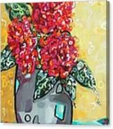 Carolyn's Roses Canvas Print