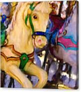 Carousel #2 Canvas Print