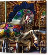 Carousel Beauty Ready To Roll Canvas Print
