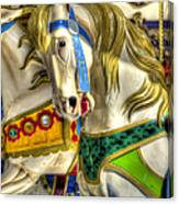 Carousel Charger Canvas Print