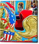 Carousel Chariot Canvas Print