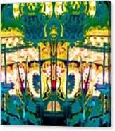 Carousel Convergence Canvas Print