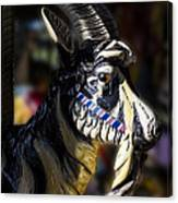 Carousel Goat Canvas Print