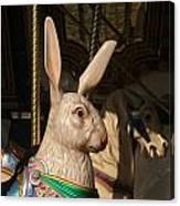 Carousel Hare Canvas Print