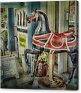 Carousel Hourse Canvas Print