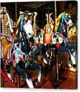 Carousel In Florence Italy Canvas Print