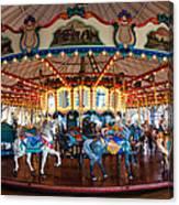 Carousel Ride Canvas Print
