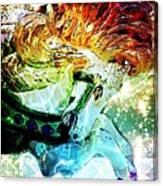 Carousel Sparkle Canvas Print