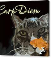 Carp Diem Canvas Print