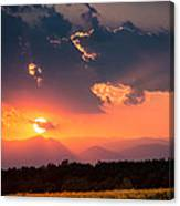 Carpathian Sunset Canvas Print