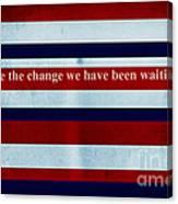 Carpe Diem Series - Barack Obama Canvas Print