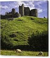 Carreg Cennan Castle Canvas Print